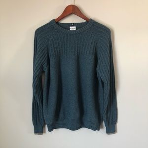 ⭐️ Columbia Crewneck Men's Teal Sweater